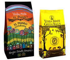 Yerba mate El PAJARO Guarana + Mate green sachets