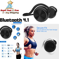 Workout Headphones Bluetooth Wireless Stereo Gym Running Earphones Built In Mic