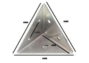 Pyramide Winkel Haltewinkel 45mm Zp Stahl Packung 20