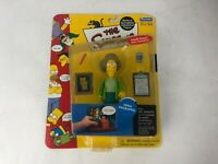 the Simpsons - Edna Krabappel Action Figure Playmates Series 7 out of production