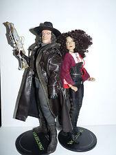 "lot complet 2 figurines loose Van Helsing Sideshow 1/6 12"" 30 cm"