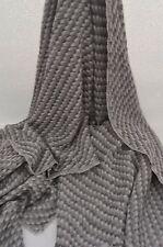 Grey Cashmere Scarf Shawl Stole Wrap Throw 100% Pashmina Nepalese Handmade