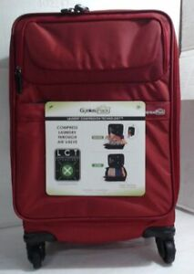 NEW Genius Pack G3 22 Inch Carry-On Spinner Red $304