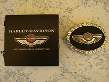 +++ Orig. 100 Jahre Harley-Davidson Motorcycles Gürtelschnalle, Buckle +++
