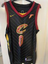 New listing NBA Basketball Cleveland Cavaliers 0 KEVIN LOVE Alternate black jersey Size XL