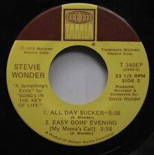 Soul 45 Stevie Wonder - All Day Sucker / Saturn On Tamla