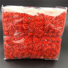 144Pcs/ Pack Mini Foam Artificial Rose Flower Bouquet Wedding Decor