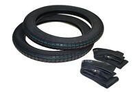 2x Reifen und 2x Schlauch 2.75-16 2 3/4x16 für Simson S 51 B1-4 B2-4/1 50 4-Gang