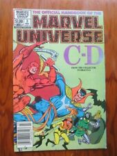 Marvel Universe 3   Daredevil  Doctor Strange Doctor Doom  Newsstand Edition
