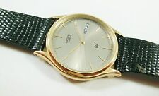 Seiko SBG068 Gold Tone Stainless Steel 5H23-7B20 Calf Sample Watch NON-WORKING