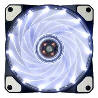 15 LED Light Quite Cool Fan 120mm DC12V 4Pin PC Computer Case Cooling Fan Mod