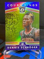 2017-18 Donruss Optic Court Kings Purple #9 Dennis Schroder Atlanta Hawks