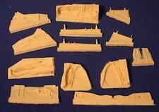 F-105 D/G Resin Wheel Well Update Set for Trumpeter (1/32 Avionix 32021)