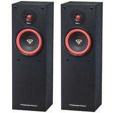 """Pair Set Cerwin Vega SL-8 8"""" 2 Way Floor Standing Tower Speaker 150 Watt Theater"""