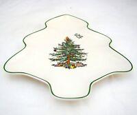"Spode CHRISTMAS TREE S3324 Tree-Shaped Dish 7 1/4"" x 6 1/2"" NEW NWOB"