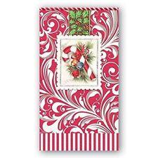 *MICHEL DESIGN WORKS Set of 15 Paper Guest/Hostess Napkins~Christmas~ Candy Cane