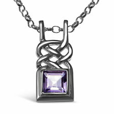 "Chain Amethyst 18 - 19.99"" Fine Necklaces & Pendants"