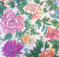 """54"""" LARGE BLOOMS DESIGNER 5TH AVENUE FLORAL COTTON UPHOLSTERY FABRIC BY YARD"""