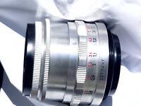 M42 Carl Zeiss Jena Slim/Compact Tessar 2.8/50mm 12-blades, Near Mint, Preset