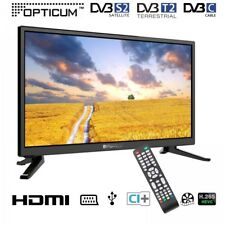 TV LCD 20 pollici Travel (12/24/230 Volt); dvb/c/s2/t2, USB,
