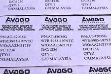 (2) AT-42035G Broadcom / Avago RF Bipolar Transistor 6 GHz High Output Power