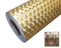 A4 1m Roll Engine Turn Metallic Circle Brushed Self Adhesive Sign Vinyl Roll