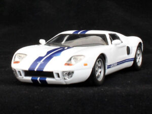 Ford GT40 Racing Coupe 1964 Year American Sports Car 1/43 Scale Diecast Model