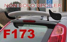 SPOILER ALETTONE GRANDE PUNTO  REGOLABILE  GREZZO IN POLIDUR F173G