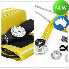 QUALITY Stethoscope + Sphygmomanometer Yellow KIT