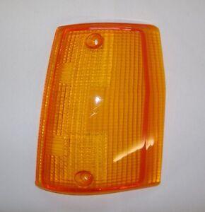FIAT UNO - UNO TURBO/ PLASTICA FANALINO ANTER. SX/ LEFT FRONT TURN LIGHT LENS