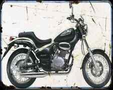 Gilera Coguar 125 1 A4 Metal Sign Motorbike Vintage Aged