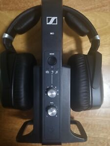 Sennheiser RS 195 Over the Ear Wireless Headphones - Black