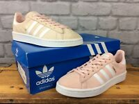 ADIDAS LADIES VINTAGE TWIST PINK CAMPUS 80 TRAINERS RRP £70 - VARIOUS SIZES