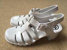 Juju Ladies Beach Water Resistant Rubber Office Sandals Open Heel Shoes Uk 6