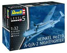 Revell 03928 1/32 HEINKEL HE219 A-0 NIGHTFIGHTER (PLASTIC KIT)