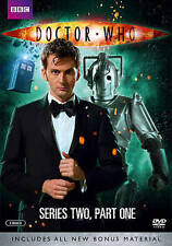 Doctor Who: Series Two, Part One (DVD, 2014, w/ Slipcover) Ships in 12 hours!!!