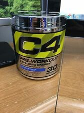Cellucor C4 G4 Pre-Workout Supplement Icy Blue Razz 30 Srv CLUMPY LOT OF 12 Read