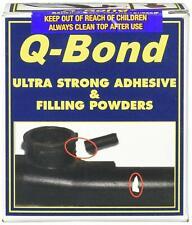 Q BOND Ultra Strong Adhesive Glue Repair Kit & Filler Powder 10 Second Setting.