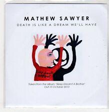 (ER264) Mathew Sawyer, Death Is Like A Dream We'll Have - 2013 DJ CD