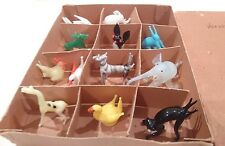 Vintage Venetian Miniature Glass Animals, original box of 12