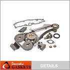 Fit 91-99 Nissan Sentra 200SX NX 1.6L DOHC Timing Chain Kit GA16DE
