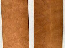 "Honduras Quilted Mahogany Exotic Wood Veneer - 8.88sf #Hqm9 4x80"" 4pc"