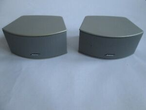 BOSE CINEMATE, 321 GS SPEAKERS SILVER~EXCELLENT CONDITION AND FULL WORKING ORDER