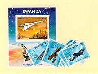 Rwanda Scott 885-893 NH    [ID#422856]