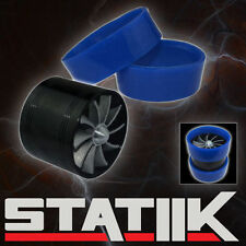 AIR INTAKE FAN SUPERCHARGER TURBO GAS FUEL VORTEX KIT SAVER S1