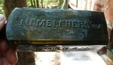 AROMATIC SCHNAPPS BOTTLE-J.J.Melchers WZ-Pint-Dark Green-c.1870s
