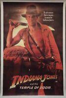 INDIANA JONES AND THE TEMPLE OF DOOM ORIGINAL AUSTRALIAN CINEMA POSTER 1984 FORD