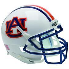 Auburn Tigers Chrome Mask Schutt XP Full Size Replica Football Helmet