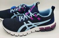 Asics Gel Quantum 90 Blue Heritage Purple Running Shoes 1022a115-401 Women's 9.5