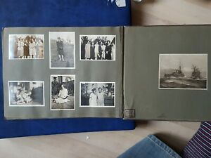 VINTAGE PHOTO ALBUM. 87 IMAGES, ALL SHOWN, NICE SELECTION